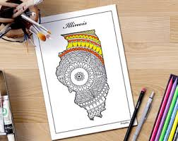 Small Picture Louisiana state map Adult coloring page printable July 4th