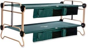 Disc O Bed Cam O Bunk Cots with Organizers X REI