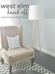 diy furniture west elm knock. West Elm Knock Off Tripod Floor Lamp Diy Furniture U