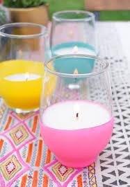 diy balloon dipped citronella candles