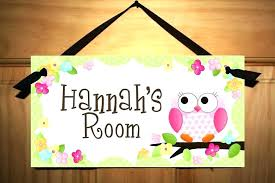 child door signs personalized baby bedroom net uk image 0 home ideas ho classroom personalized door signs canada