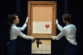 Clues And Legal Liabilities: What Happened After Banksy Shredded His Own  $1.4 Million Artwork