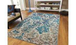 large area rugs blue cream modern living room rug 8x10 fl runner rugs