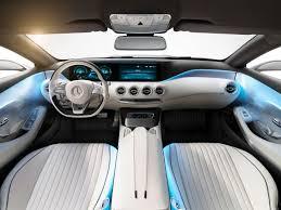 mercedes benz concept s class coupe interior