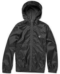 Volcom Big Boy Size Chart Big Boys Ermont Hooded Windbreaker Jacket