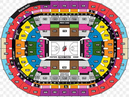 Moda Center Hockey Seating Chart Portland Trail Blazers Moda Center Rose Quarter Veterans