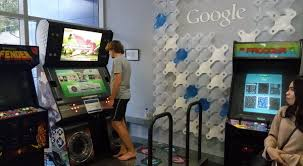 Image result for fasilitas bermain di googleplex