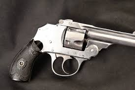 iver johnson 3rd model 2nd variation small frame safety automatic hammerless top break nickel 3