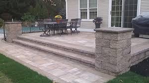 raised paver patio.  Patio Raised Paver Patio In I