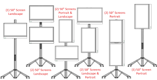Portable Stands For Display Tall TV Stand With 100 Mounts Fits Screens Up To 100 Portable 34