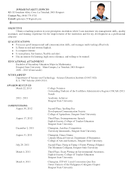 Sample Of Comprehensive Resume Free Resume Example And Writing