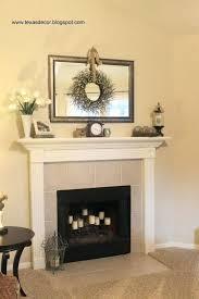 Fireplace Decoration For Christmas U2014 Jen U0026 Joes Design  Christmas Fireplace Decorations