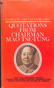quotations from chairman mao by mao abebooks