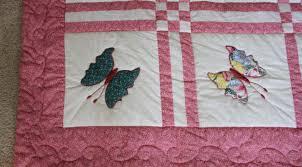 Butterfly Appliqué Quilt | Lady Bird Quilts & Butterfly Applique Quilt Adamdwight.com