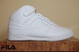 fila basketball shoes black. mens fila f13 f-13 classic mid high top basketball shoes sneakers white black 14 | ebay