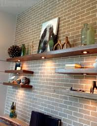 decorating wall shelves and ledges