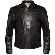 levi s made crafted men s off road leather jacket black image 1