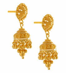 Gold Earrings Designs In Sri Lanka 22k Yellow Gold Earrings Anjali Jewellers Gold Earring