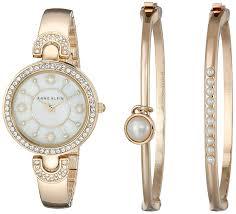 Modern Bangle Bracelet Watch Amazon Com Anne Klein Woman A K