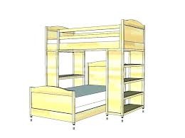bunk bed with stairs plans. Diy Bunk Beds With Stairs Bed Ladder Plans  .