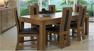 superb awesome fabulous black leather chairs and sleek solid wood dining advanced arrangement wooden dining