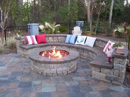outdoor gas fire pit plans