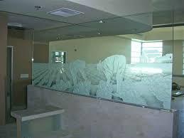 office glass partition design. Office Glass Partition Ideas Modern Design Dividers Landscape Mountains Men Workers Farmers
