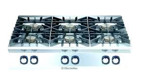 gas stove top viking. 6 Burner Gas Cooktop Viking 4 Stove Top E