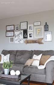 Diy Canvas Script Art Love Grows Wild Gallery Wall Living Room Cheap Home Decor Living Room Grey