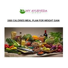 Weight Gain Diet Plan