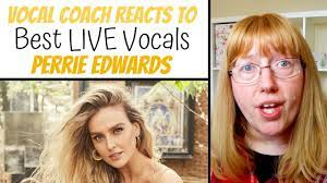 Vocal Coach Reacts to Perrie Edwards ...