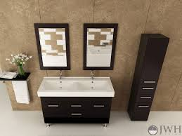 bathroom furnitures 48 inch double sink vanity bathroom interior brown vanity with white countertop 48