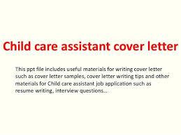 Sample Cover Letter For Child Care Worker Yupar Magdalene