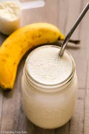 healthy homemade protein shake