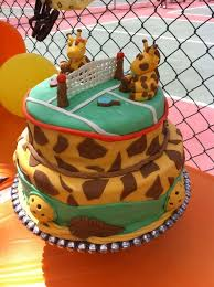 This Custom Pickleball Cake Was For A Baby Shower At Castle Creek