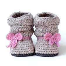 Free Baby Crochet Patterns For Beginners Magnificent Fun And Easy Baby Booties Crochet Pattern For Beginners