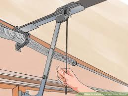 installing a garage door openerHow to Install a Garage Door Opener with Pictures  wikiHow