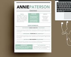 Free Cool Resume Templates Template Awesome Cv Template 24