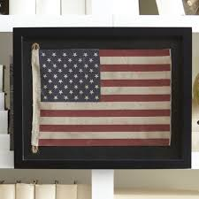 details about small american flag framed wall art rustic patriotic stars stripes wall decor