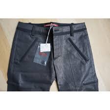 Comptoir Des Cotonniers Size Chart Trousers Comptoir Des Cotonniers Black Size 34 Fr In Cotton