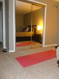 mirrored closet doors romantic