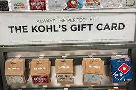gift cards at a kohl s department in the queens borough of new york u s