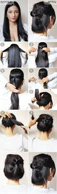 quick and easy updo hairstyle 11 best diy hairstyle tutorials for your next going out