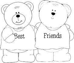 Best Friends Coloring Pages 27925, - Bestofcoloring.com