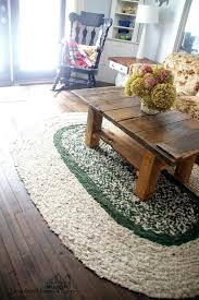 diy area rug how to braid your own large homemade area rug for our farmhouse living