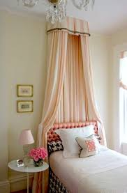 Lovely Girls' Room Bed Crown Canopy | KidSpace Interiors | Nauvoo IL