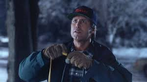Clark Griswold Hanging Lights Its Holiday Time And In The Spirit Of The Season Hanging