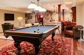 billiard room lighting. Innovative Mizerak Pool Table In Basement Traditional With Lighting Next To House Plans Alongside Billiard Room