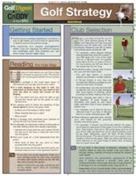 Golf Strategy Chart