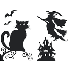 Halloween Template Window Silhouettes Template Example 8 Easy Decor Ideas Of Halloween